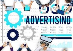 Advertisement Branding Concept